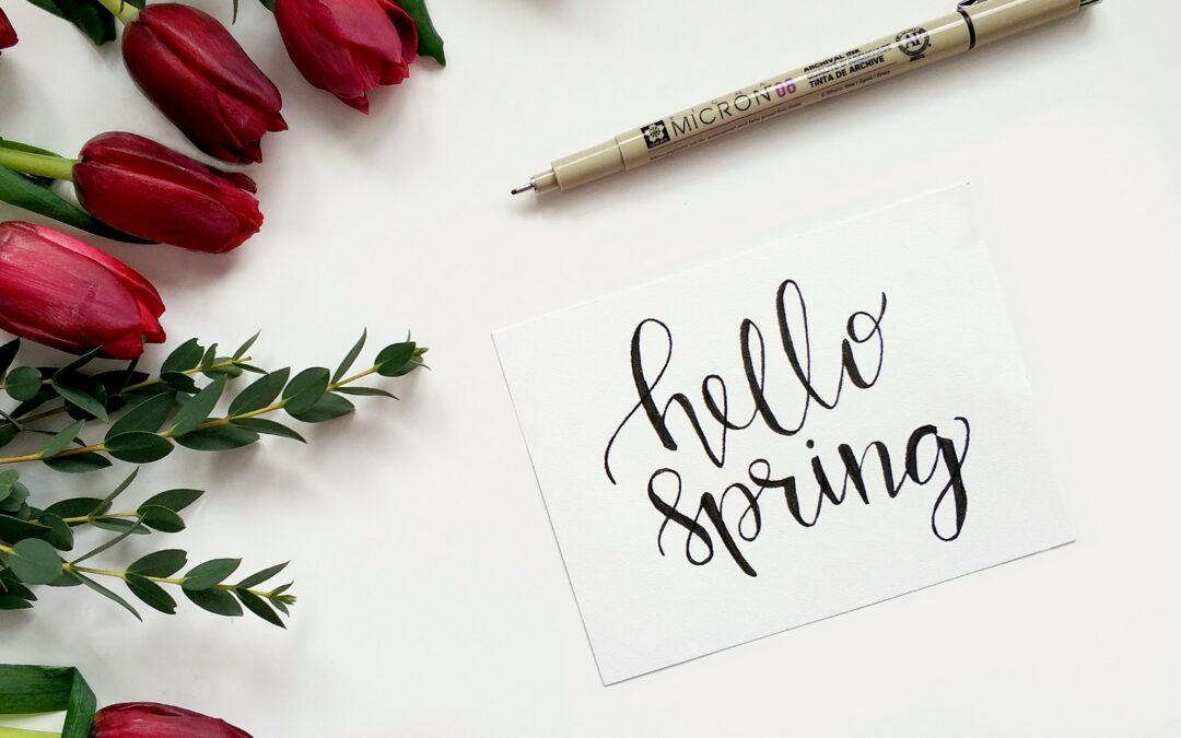 Spring is a Time for Fresh Starts and New Things